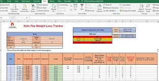 Entry 6 By Zeeshanamrack For Design A Weight Loss Tracking Excel