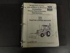 ford 655 backhoe ford 555c 655c tractor loader backhoe service parts catalog fnh 17425