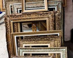 Antique frame Silver Paris Photography Antique Frames In Paris Golden Brown Flea Market Shopping In Paris Golden Brown French Market Finds Parisian Market Etsy Antique Frame Etsy