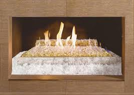 fireglass setting