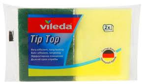 <b>Губка</b> для посуды <b>Vileda Tip</b>-<b>Top</b> 2 шт — купить по выгодной цене ...