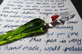 j herbin large spiral glass dip pen review