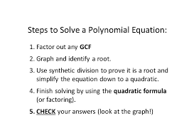 5 steps to solve