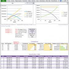 Extra Payment Mortgage Calculator For Excel 35759765195 Mortgage