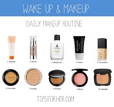 wake up makeup daily makeup routine