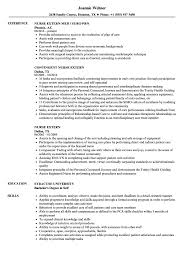Nurse Extern Resume Samples Velvet Jobs