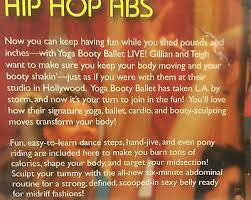 Hip Hop Abs Workout Chart 5 Yoga Booty Ballet Live Dvd Lot Bollywood Go Go Burlesque