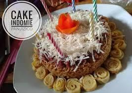 Resep Cake Indomie Oleh Anyjuna Cookpad