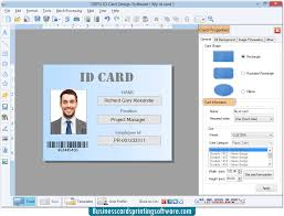 Designs Software Employee Card Identification Student Id Designing Cards Faculty