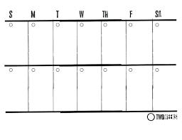 6 week blank calendar 2 week blank calendar printable online sample downloads full medium
