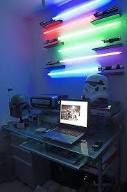 star wars themed desk