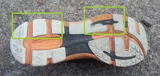 Running Shoe Wear Pattern