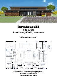 farmhouse33 modern farmhouse plan farmhouse33 houseplan 61custom com