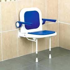 wall mounted shower seat shower seat with arms wall mounted shower seat with back and arm wall mounted shower seat