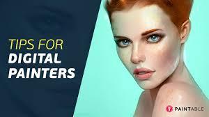 Digital Portrait Painting Digital Painting Walkthrough Portrait Tips Tricks Youtube