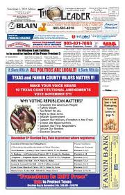 11 5 19 Leader E Edition By The Fannin County Leader Issuu