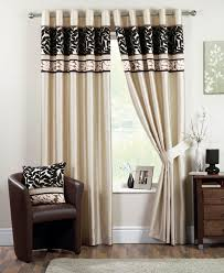 black and brown curtains 59 cool ideas for coniston ready made eyelet