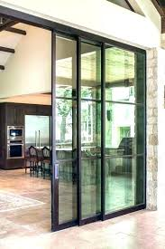 remove sliding glass door how