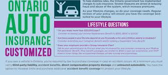 auto insurance ontario policy updates