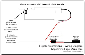 linear actuator limit switch wiring diagram linear actuator external limit switch kit for actuators firgelli actuators voted