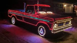 Christmas Lights on Ford Pickup Truck - YouTube