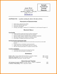 Normal Resume Format Download Resume Template Easy Http Www