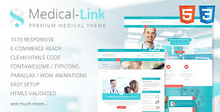 doctor template free download medical link responsive medical template free download free