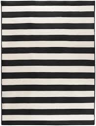 stunning surya westport black rug in black and white striped rug