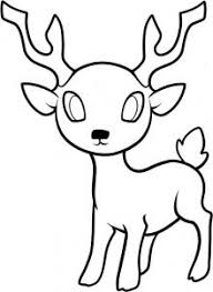 step 8 as you can see once the drawing is all plete you will have yourself such an awesome deer and you can say that you drew it by yourself