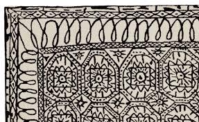 black on white estambul rug javier mariscal nanimarquina 3