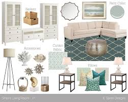 Relaxing Living Room Colors Mood Board A Relaxing Coastal Living Roomthought Of Your