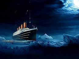 Image result for rms titanic iceberg