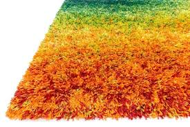 orange and green rug colorful fluffy rug with orange green gradation color orange and green rug orange and green rug