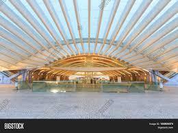 Modern Train Station Design Modern Architecture Image Photo Free Trial Bigstock
