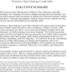 executive business plan template sample executive summary for a business plan oyle kalakaari co