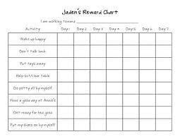Reward Chart Ideas For Kids Printable Reward Charts