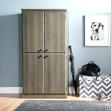 black wood storage cabinet. Wood Storage Cabinet With Door Pantry Tall Narrow Black Kitchen Garage Building A