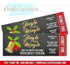 Free Templates For Tickets Christmas Party Ticket Template Free Download Read Tickets Templates