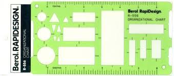 Organizational Chart Simple Berol Rapidesign Template Organizational Chart R48 EBay