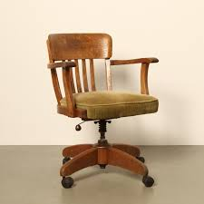 Image Retro Vintage Office Chair 1920s Vntg Vintage Office Chair 1920s 68146