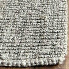 gray jute rug casual natural fiber hand woven light grey chunky thick 2 dark uk ikea gray jute rug