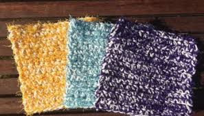 Free Crochet Patterns For Scrubbies Magnificent Spring Cleaning Day Two The Loopy Scrubby A Free Crochet Pattern