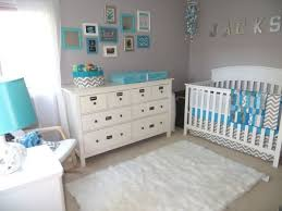 nursery with white furniture. paint a taupe or grey and white furniture then accent with blue pink when baby is born love gallery wall dresser nursery