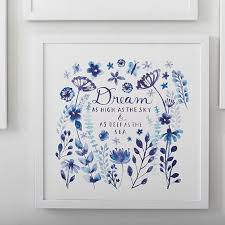wonderful dream blue wall art minted pbteen throughout blue wall art modern  on blue and white wall art with wonderful dream blue wall art minted pbteen throughout blue wall art