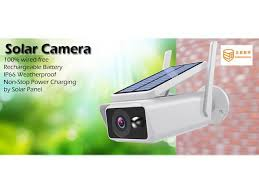 <b>SUNSEE DIGITAL Solar Wireless</b> IP Camera 1080P WiFi Waterproof ...