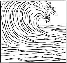 Wave Coloring Sheet Under Fontanacountryinn Com