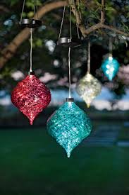 diy ornaments outdoor ornament diy best large ideas hanging onion solar tree