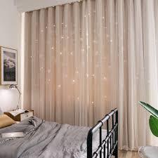 Nordische Vorhängemoderne Träumen Minimalistischen Double Vorhang