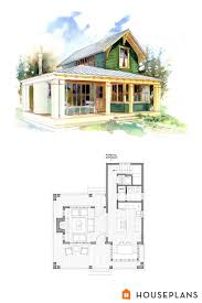 Small 1 Bedroom Beach Cottage Floor Plans And Elevation By