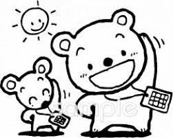 夏休み ラジオ体操イラストなら小学校幼稚園向け保育園向け自治